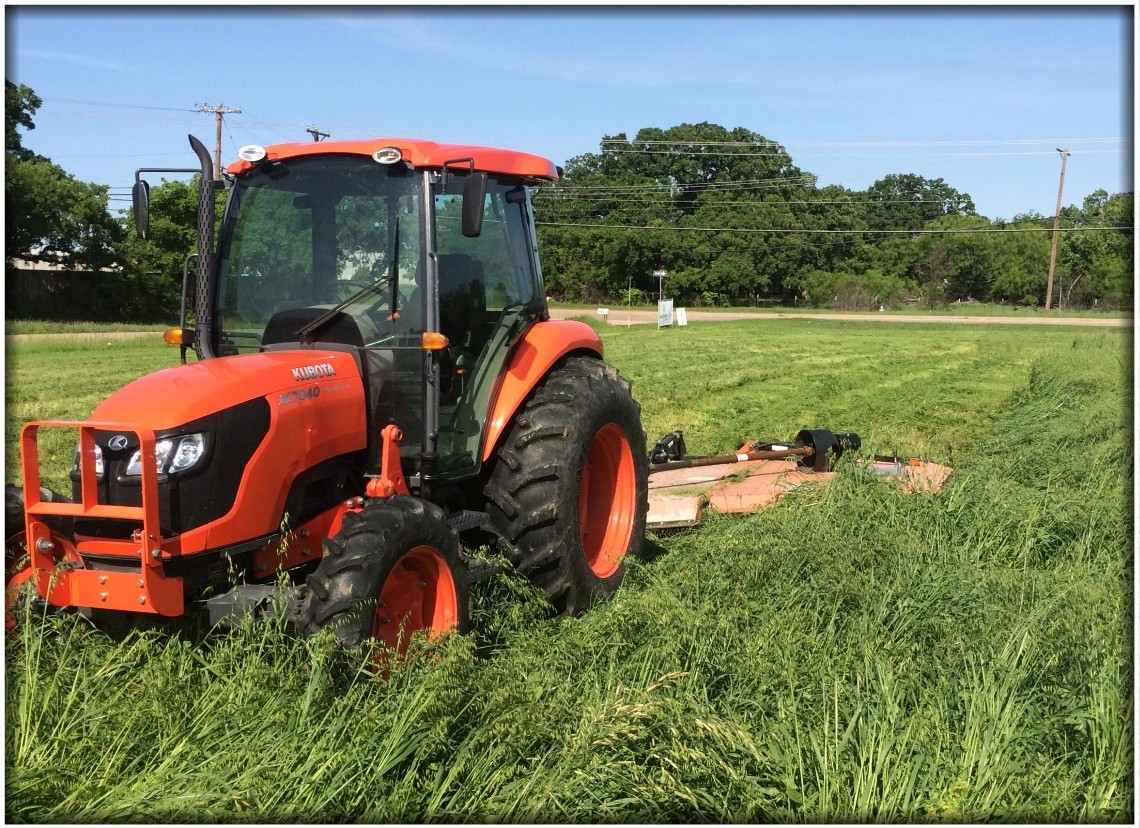 Commercial & Residential Lots, Churches and Schools Tractor Mowing by Acre Pro